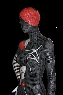 Mosaic Mannequin Art London