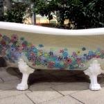 Handcrafted  Mosaic Bath