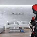 Luxury and Exclusive Wall Decor Art by Mosaic Art London