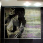 "Private Client Commissioning · ""Wet T-Shirt"" Bathroom Mural Mosaic"