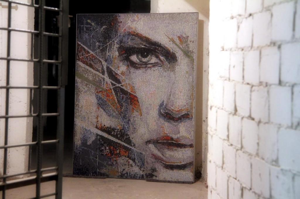 Mosaics art london mosaic wall art panels and mosaic for Wall art panels